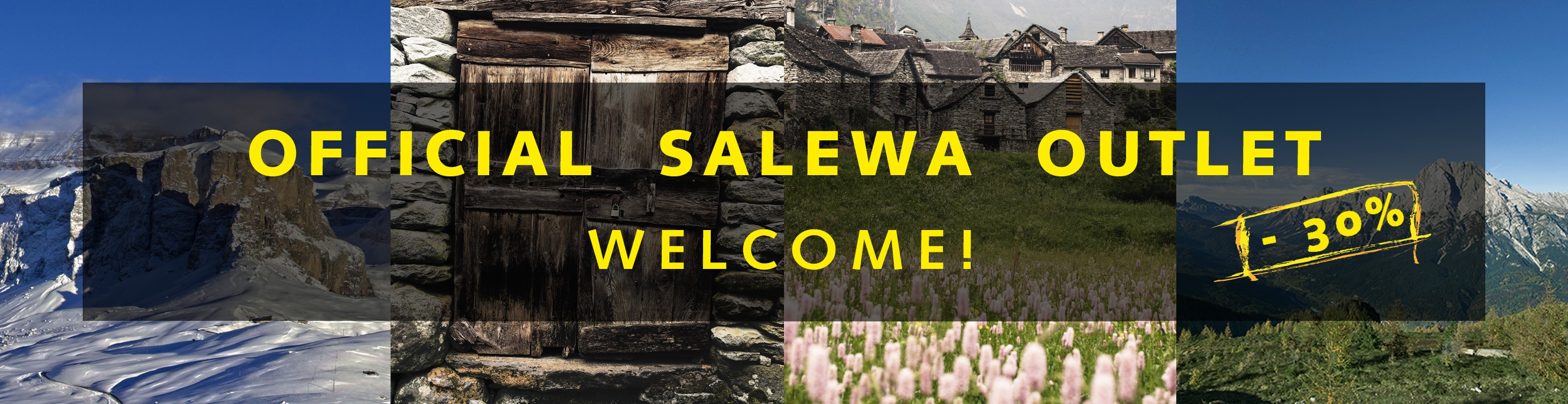 Official Salewa Outlet -30%