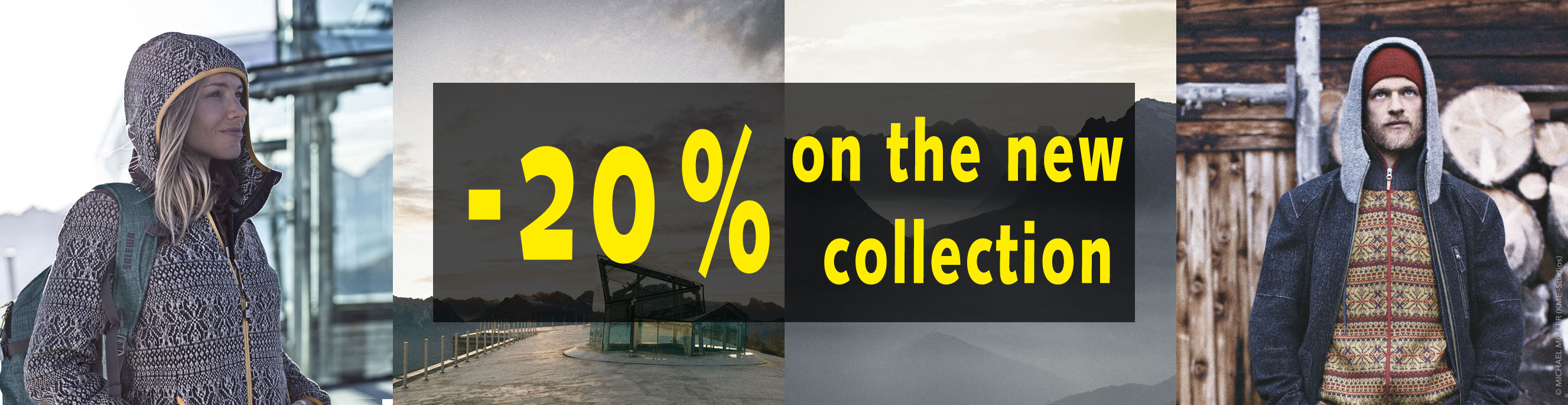 -20% on the new collection