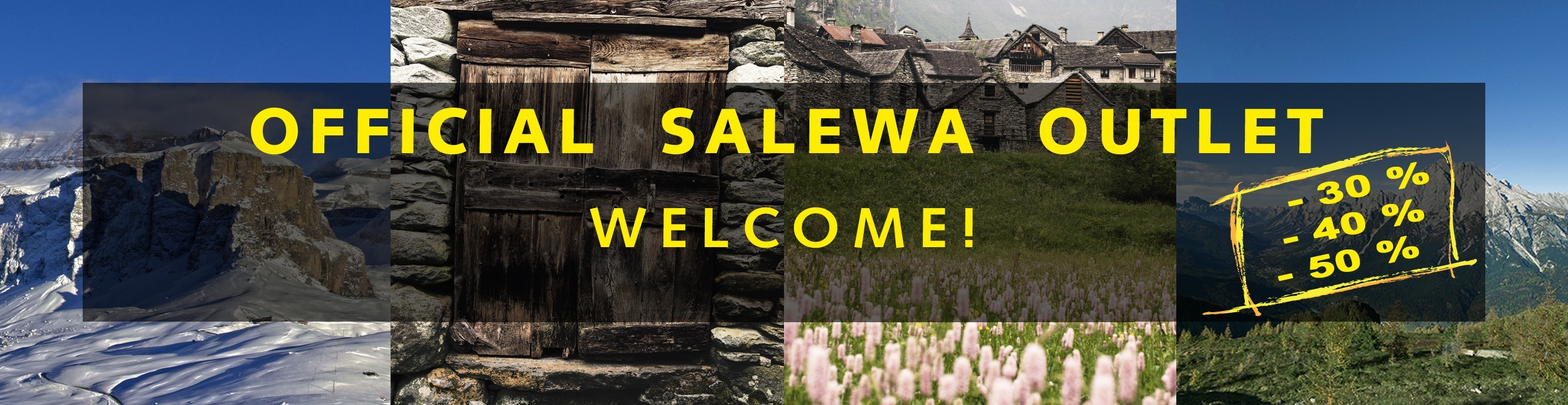 Official Salewa Outlet -30% -40% -50%