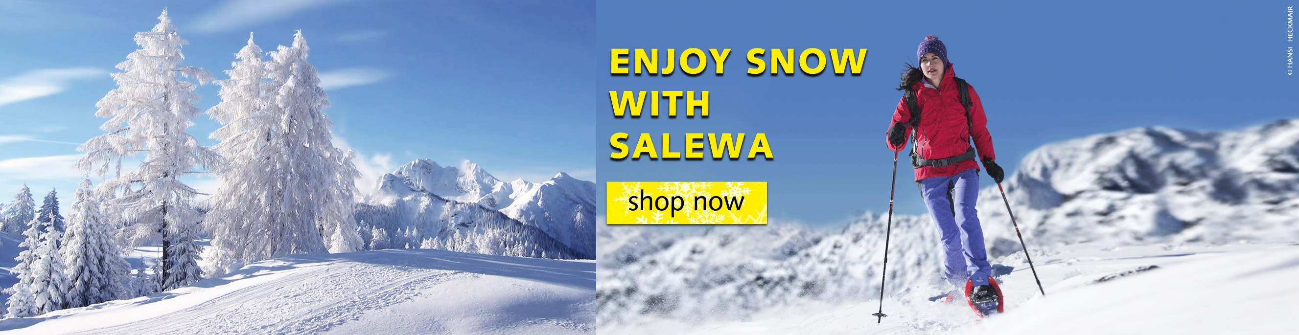 Enjoy Snow with Salewa