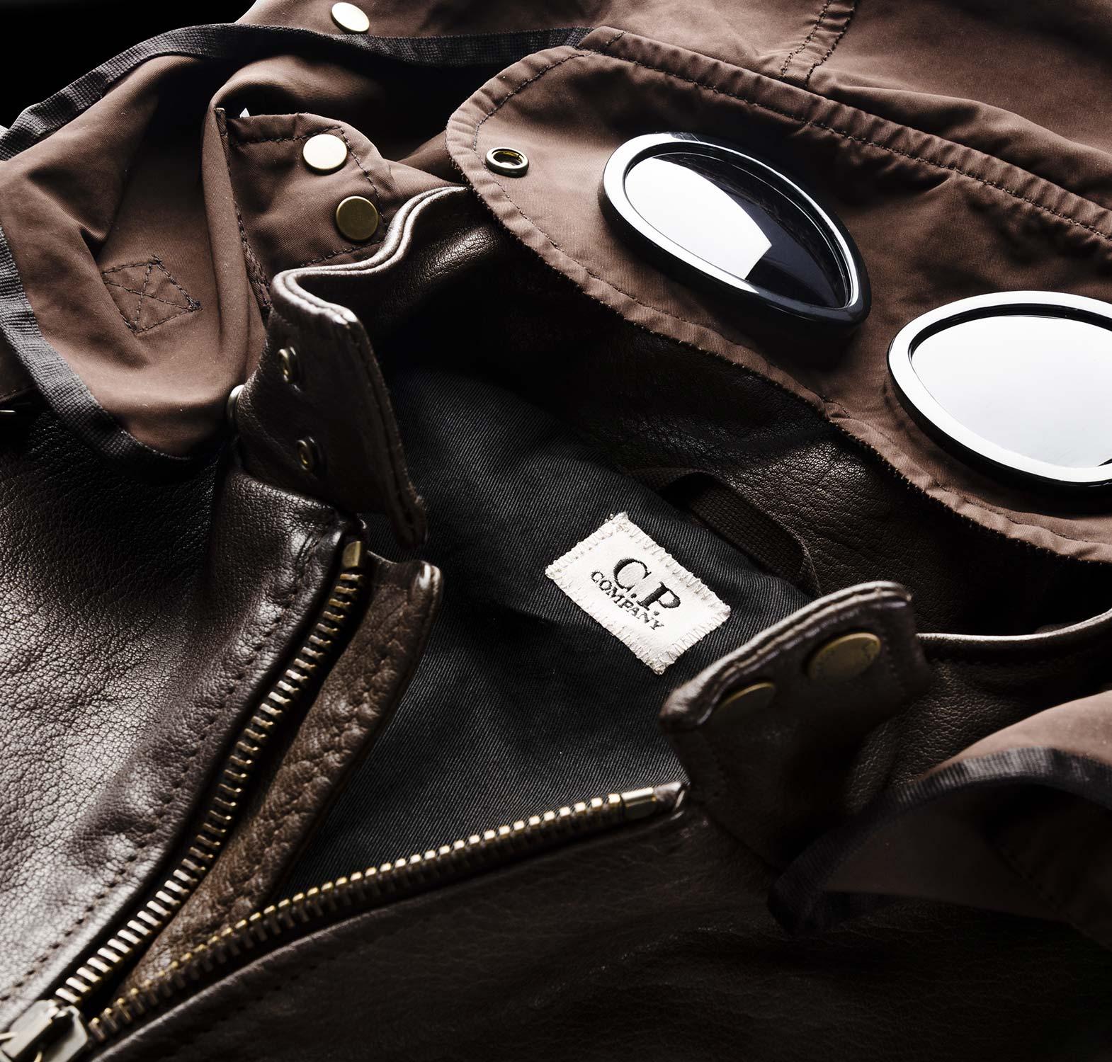 C.p. leather jackets