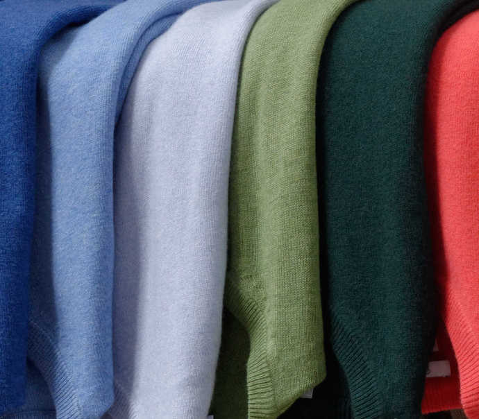 CASHMERE BLEND SWEATERS