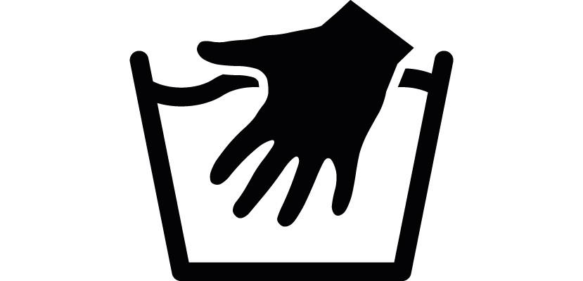 Laundry Hand Wash Symbol