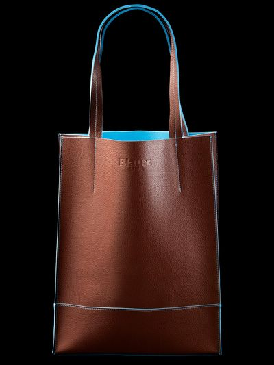 ECO LEATHER SHOPPER BAG