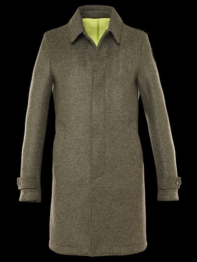 TECH WOOL COAT