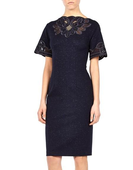 Macramé lace Appliqued Dress