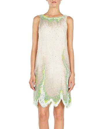 Sleeveless Sequined Dress
