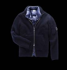KNIT JACKET WITH DETACHABLE LINING